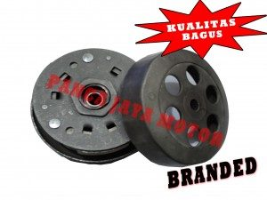 Pully Assy + Cover + Kampas Ganda
