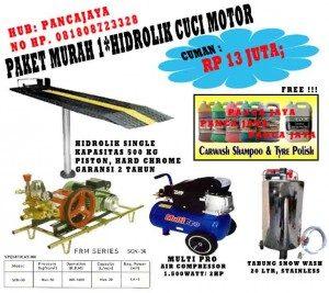 Paket Cuci Motor 1 Hidrolik