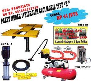 Paket Cuci Mobil 1 Hidrolik Type H