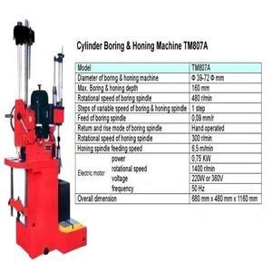 Mesin Cylinder Boring & Honing Machine TM807A