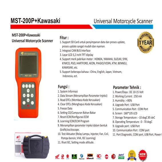 scanner motor injection